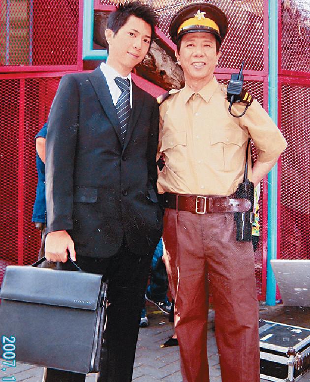 ■尹光兒子Kenny在美國畢業返港後,曾從事保險業。