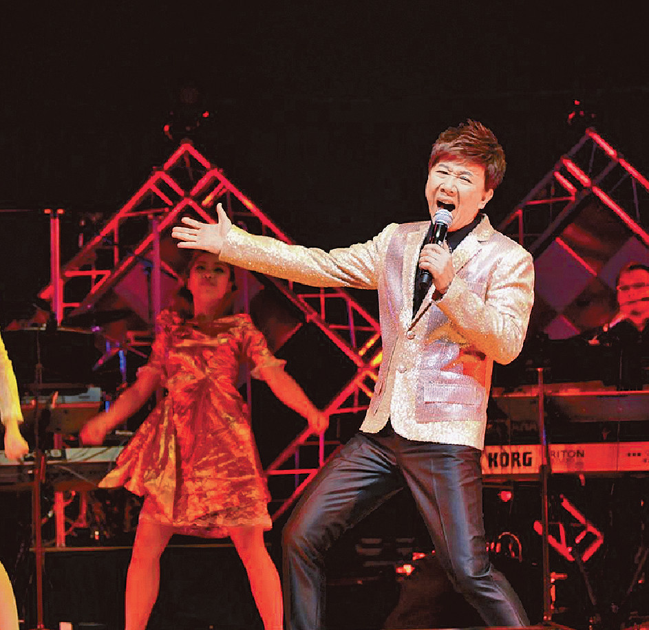 ■13年,尹光在文化中心舉行《鬼馬狂想笑不停演唱會》。