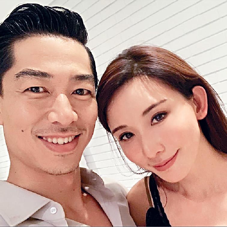 ■志玲與Akira閃婚,早前到了美國度蜜月。