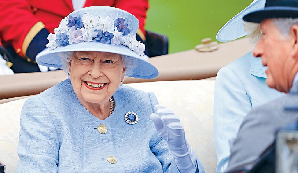 ■前日的活動,亦見英女皇伊利沙伯二世現身。