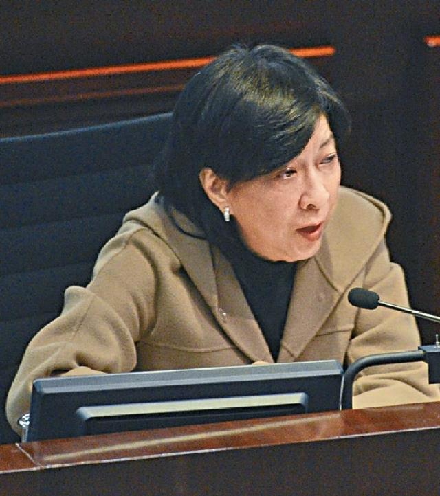 ■民建聯立法會議員蔣麗芸昨天建議政府加強宣傳後,可考慮重推《逃犯條例》。
