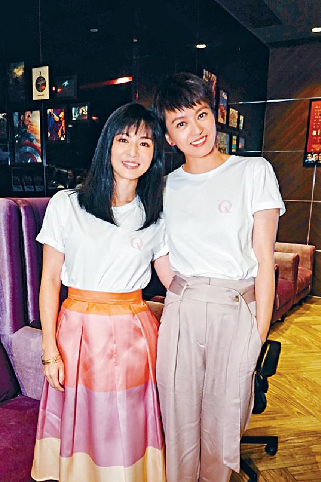 ■GiGi、楊采妮合作拍戲,私下也是好姊妹。