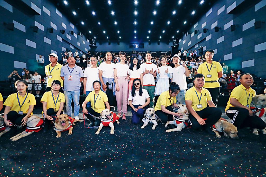 ■《小Q》上海千人慈善點影場大受粉絲歡迎。