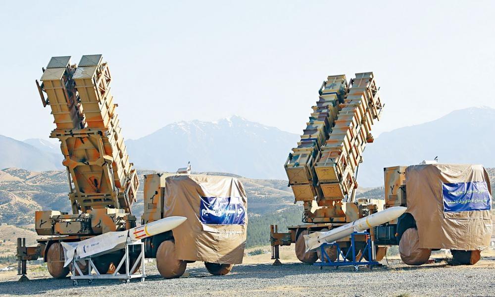 伊朗國產導彈防禦系統「霍爾達德-15」本月初首次曝光。