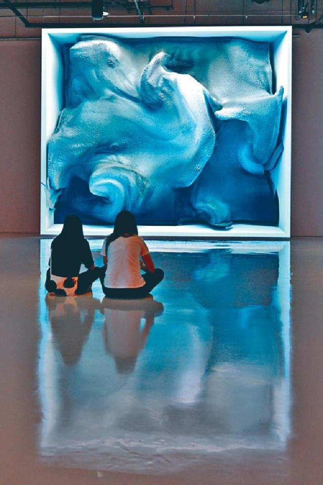 ■《融化的記憶》讓大家看到先進科技與當代藝術的交匯。