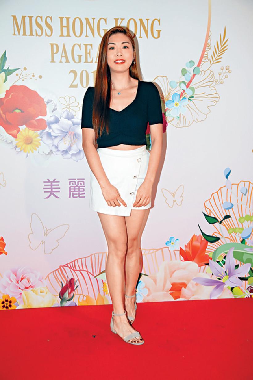 ■Vivian Yuen雖然樣貌一般,但原來身材非常搶鏡。