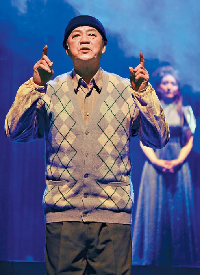 ■音樂劇中龍哥全用手語「講」台詞。