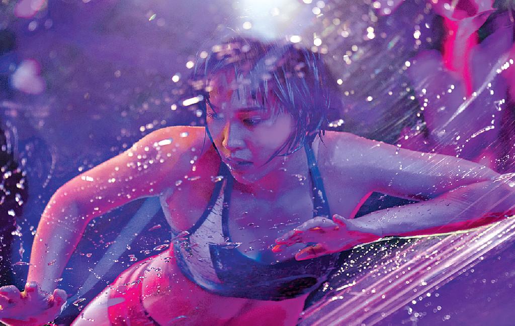 ■項目名為「水中女神」,Joman完全表達到啦!