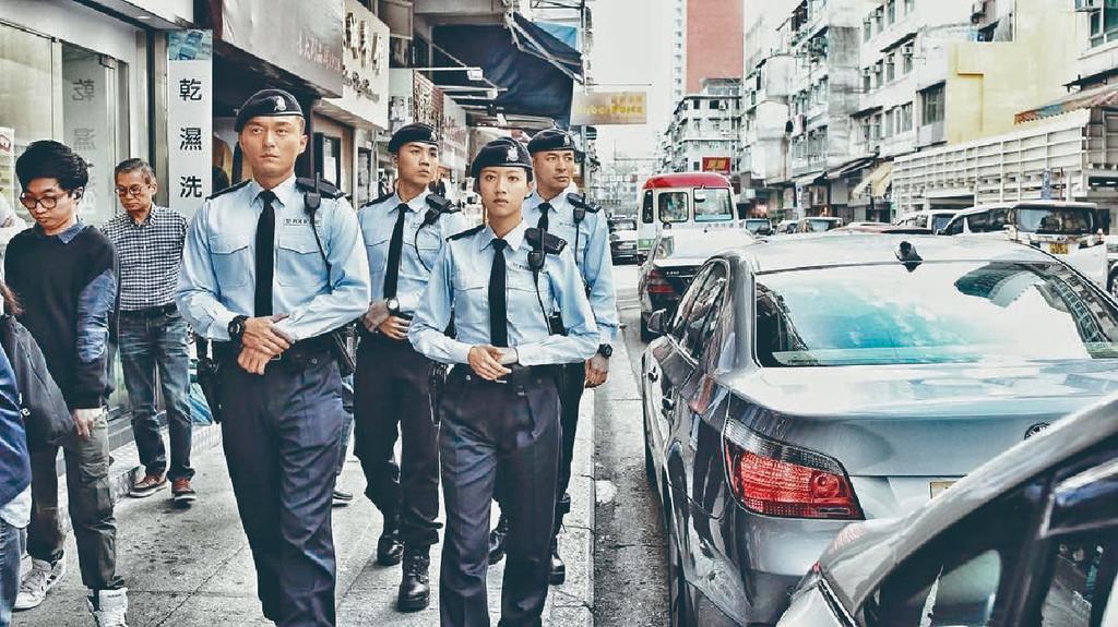 口碑唔錯 ■本年5月播出,由楊明、蔡思貝主演的《機動部隊2019》口碑不錯。