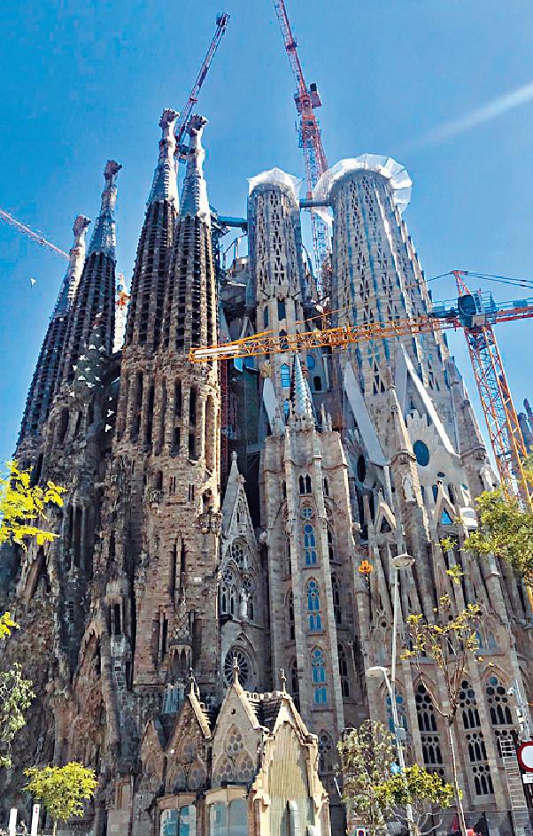 ■起足137年的La Sagrada Familia預計於2026年完工。