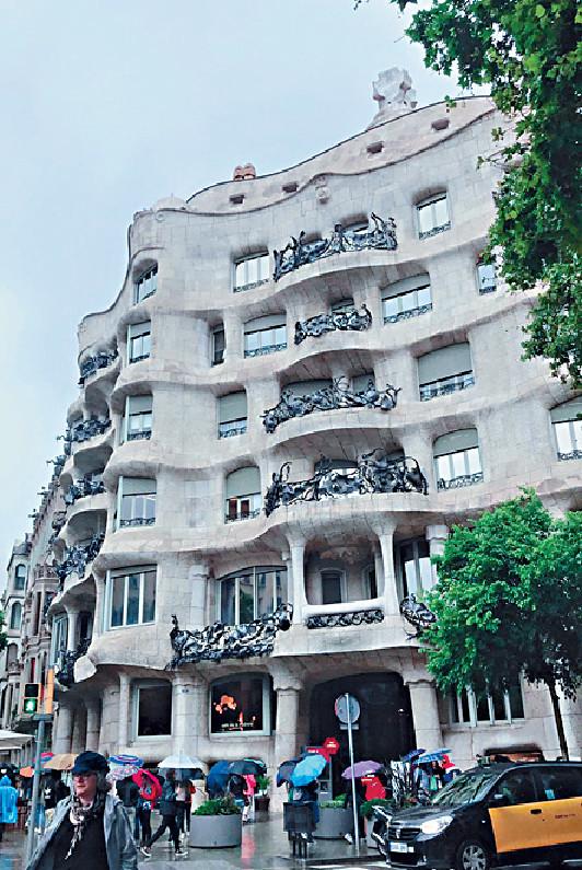 ■鬼才建築師Gaudi設計的Casa Mila已於1984年被列入聯合國世界文化遺產。