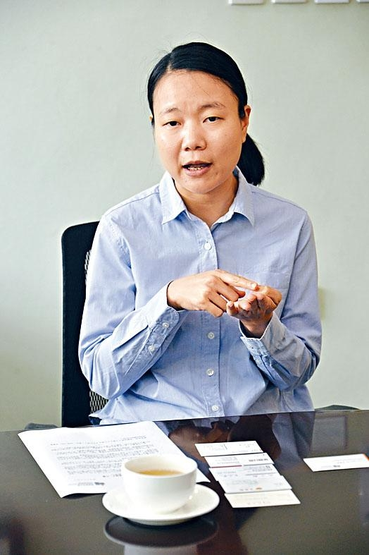 許國惠指,將於文憑試放榜後安排面試,過程約二十分鐘。