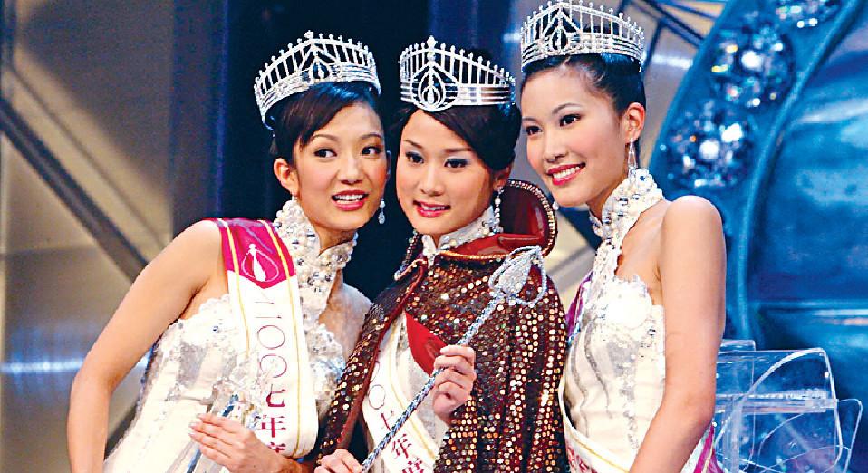 ■07年港姐冠亞季分別是張嘉兒、王君馨及周美欣。