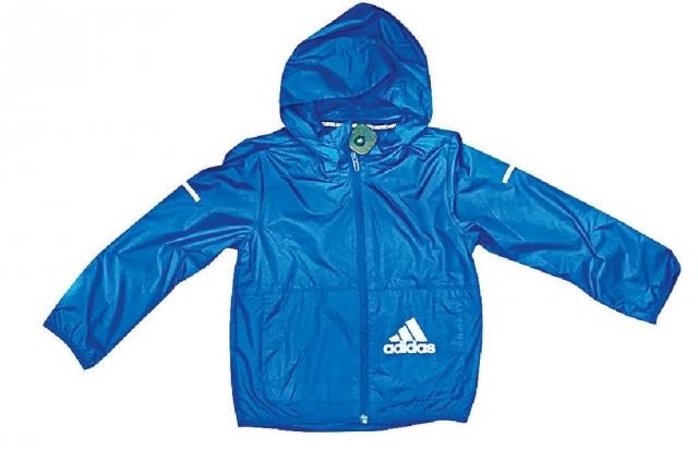 Adidas童裝風褸系列 原價$449至$499(現提供七折優惠)