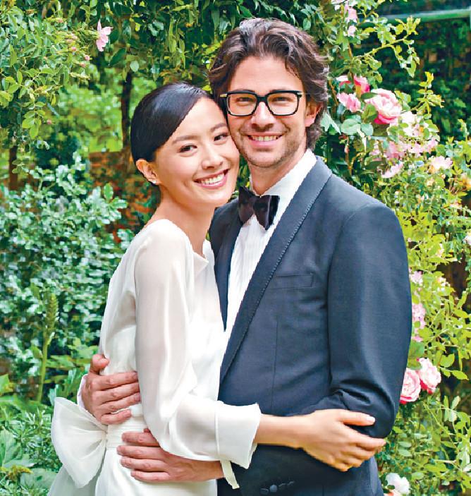 ■法拉於5月18日在巴黎完婚。資料圖片