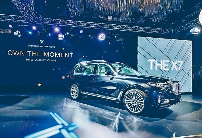 ●全新X7 xDrive40iA是品牌首款旗艦級SUV,有七座或六座兩款選擇。