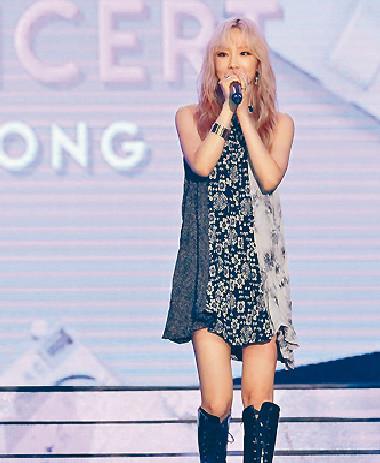 ■泰妍表示希望能再來港舉行個唱。