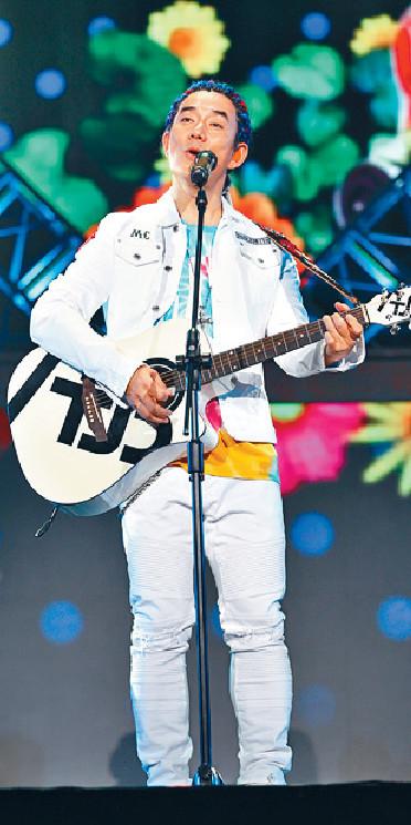 ■小齊剛在成都舉行巡迴演唱會。