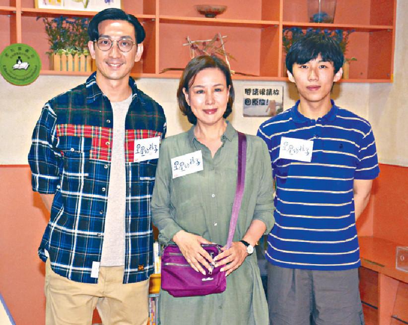 ■左起:李璨琛、文雪兒和周漢寧昨齊出席港台活動。