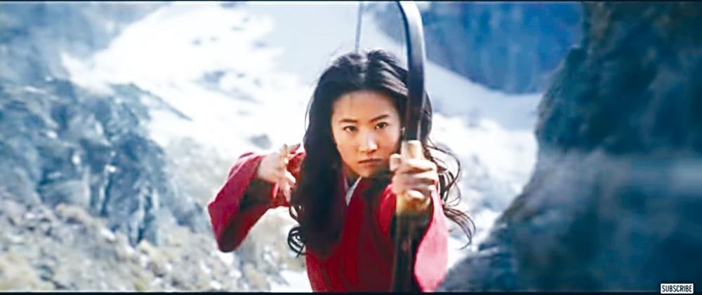 劉亦菲瞞着家人於晚上練武,練得好身手。