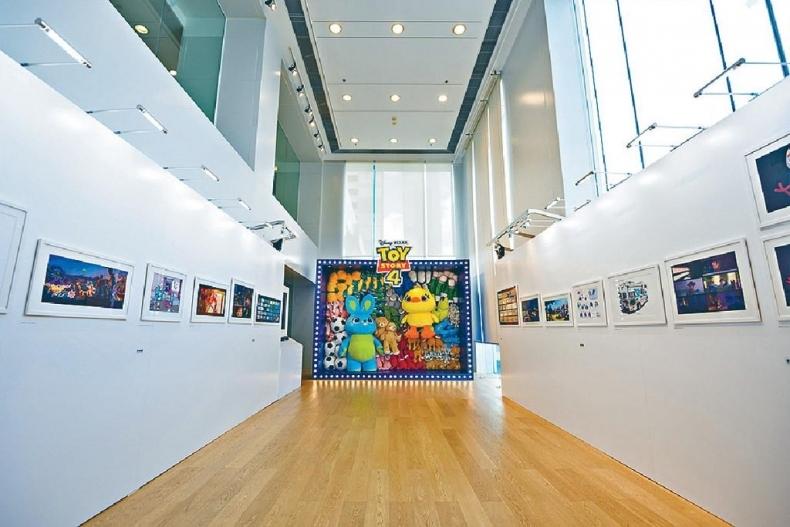 ■海港城.美術館正舉行「《反斗奇兵4》的藝術世界」展覽。