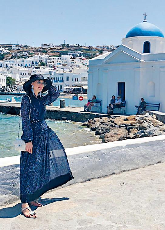 ■這特色建築原來是教堂,Danielle稱很吸引。