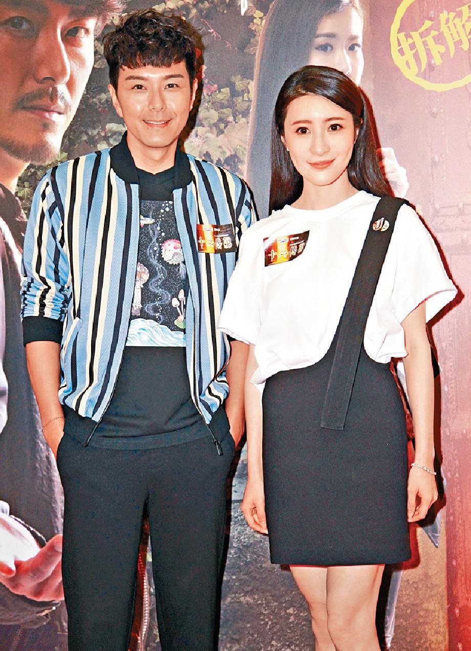 ■阿蕭(左)和薇薇新劇是第二度合作。