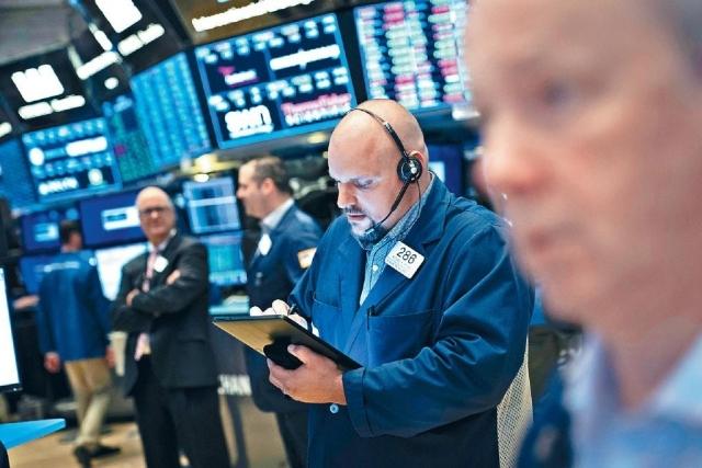 ■投資者對美國聯儲局減息預期降溫,杜指早段曾跌177點。