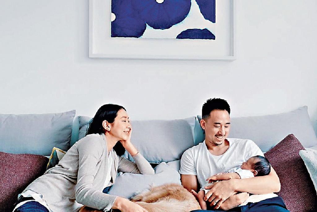 家庭第一 自成為媽媽後,Karyo依家以家庭為首位,嚟緊baby出世,仲要一個湊兩個O添。