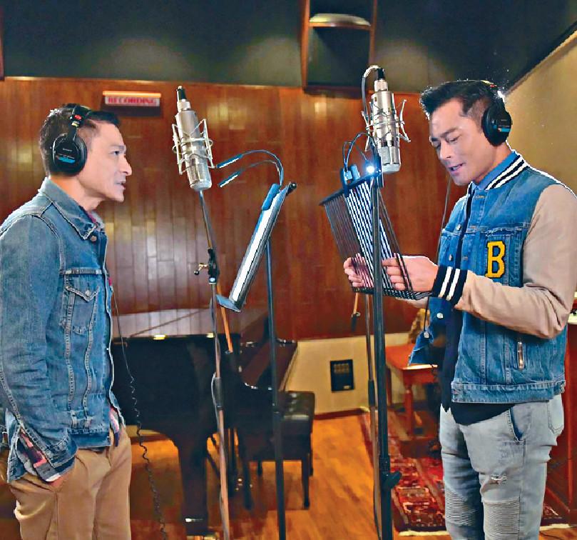 ■華哥笑言有啲後悔搵古仔合唱,「多個歌手同我搶飯食。」
