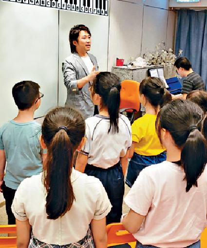 ■張崇德教授小朋友音樂理念以開心、享受出發。