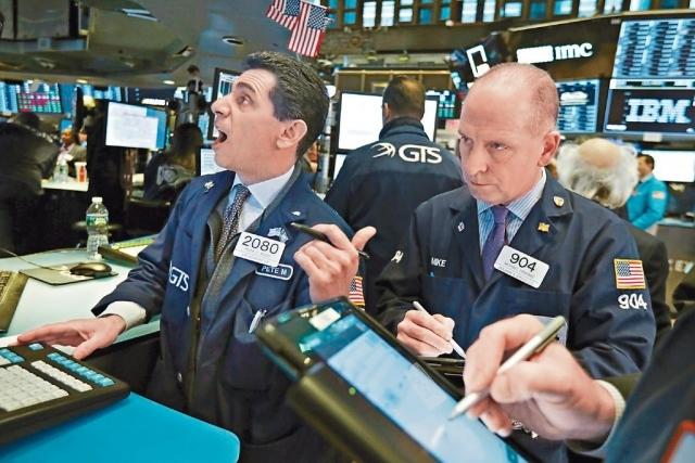 ■市場炒減息,杜指周四早段刷新紀錄新高,升破27000點。