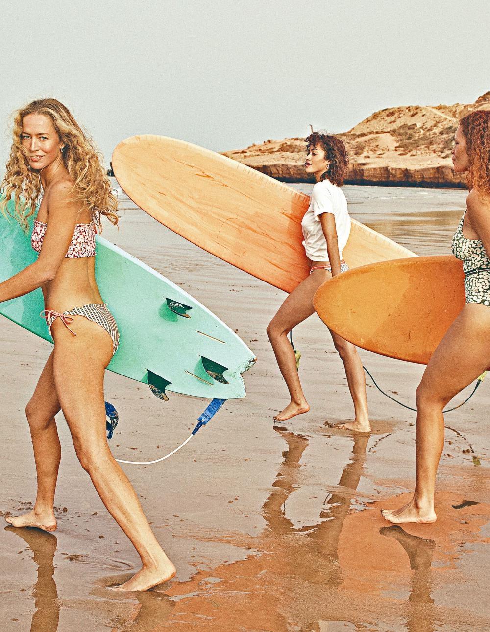 H&M×Love Stories Swimclub泳裝系列/$99.9至$329/H,包括泳衣、沙灘浴巾及鬆身沙灘外衣等項目。