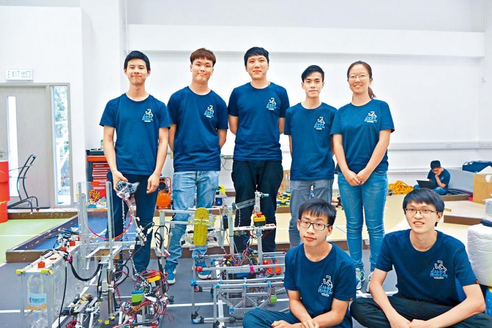 中大「工無不克」隊首次奪冠,全靠「四腳」堅固設計取勝。