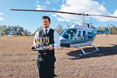 布里斯本  直升機美食遊