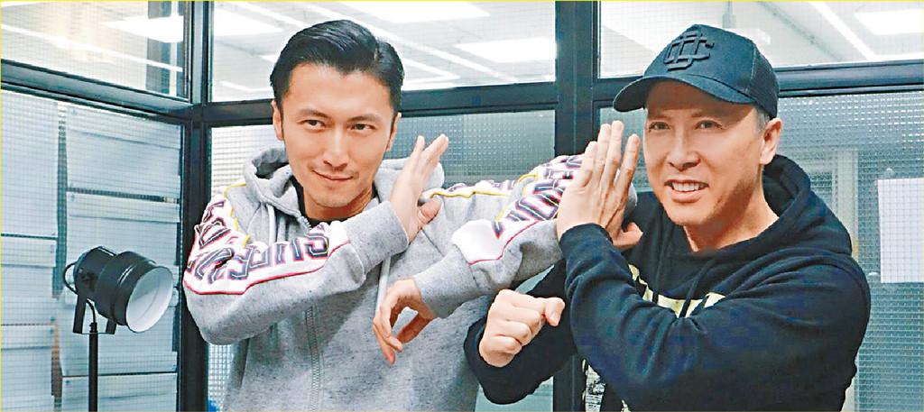■甄子丹、謝霆鋒再合作拍英皇電影《怒火》。
