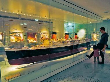 修咸頓SeaCity Museum 鐵達尼故事