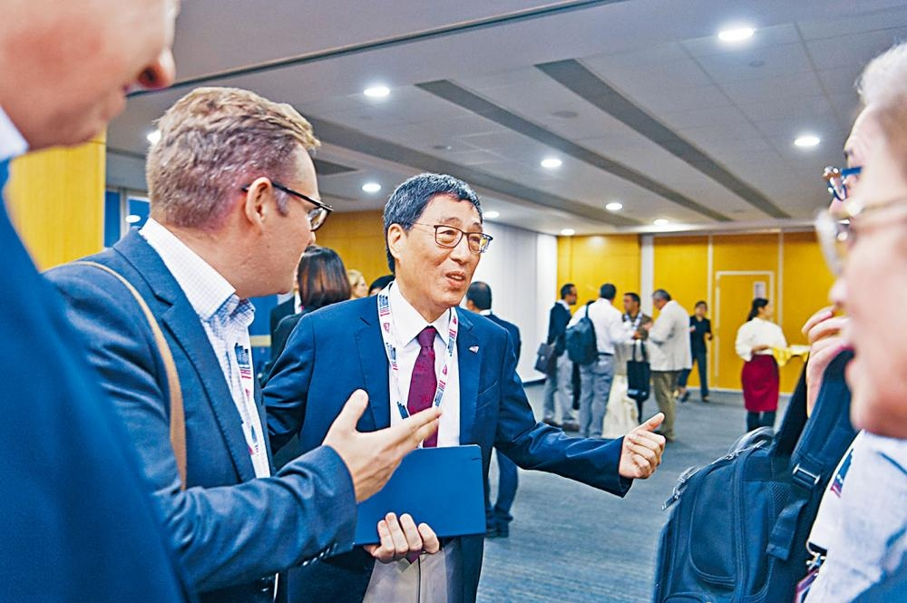 城大校長郭位與來自世界各地的學界領袖,探討未來數十年領導大學的策略。