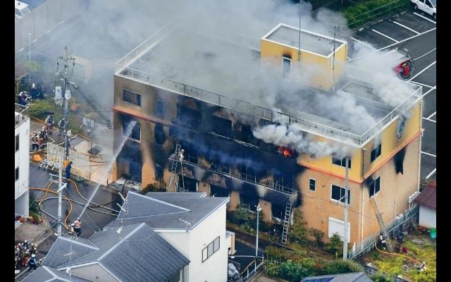 狂漢怒斥「抄襲」大報復  火攻「京都動畫」  最少33死