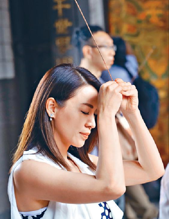 ■覓得好姻緣,煒哥想盡快去台灣龍山寺還神。