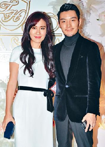 ■16年10月,葉璇拖男友來港出席羅仲謙與楊怡的婚宴。
