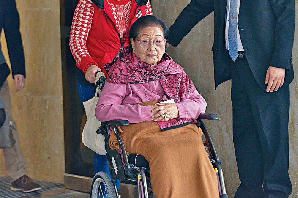 ■有指100歲高齡的羅老太已上訴高院。