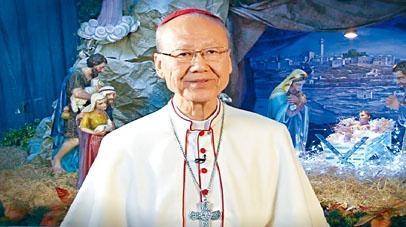 ■天主教香港教區宗座署理湯漢樞機。