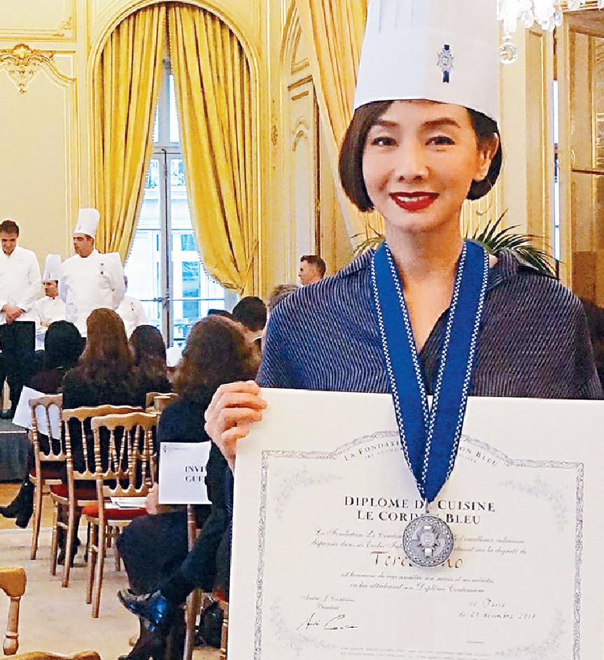 ■毛舜筠身為藍帶廚師,但做生意始終不是本行。  資料圖片