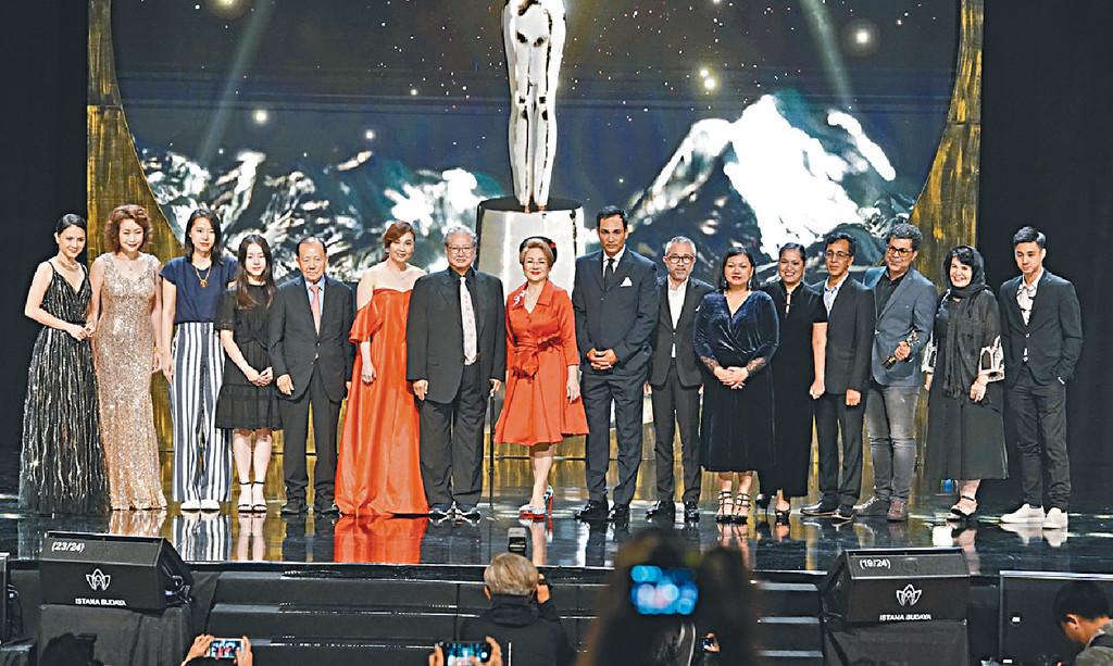 ■金環獎是馬來西亞的影壇盛事。