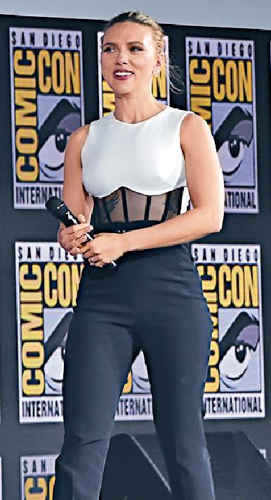 ■史嘉莉祖安遜主演的《黑寡婦》將於明年5月1日上映,是第四階段首部作品。