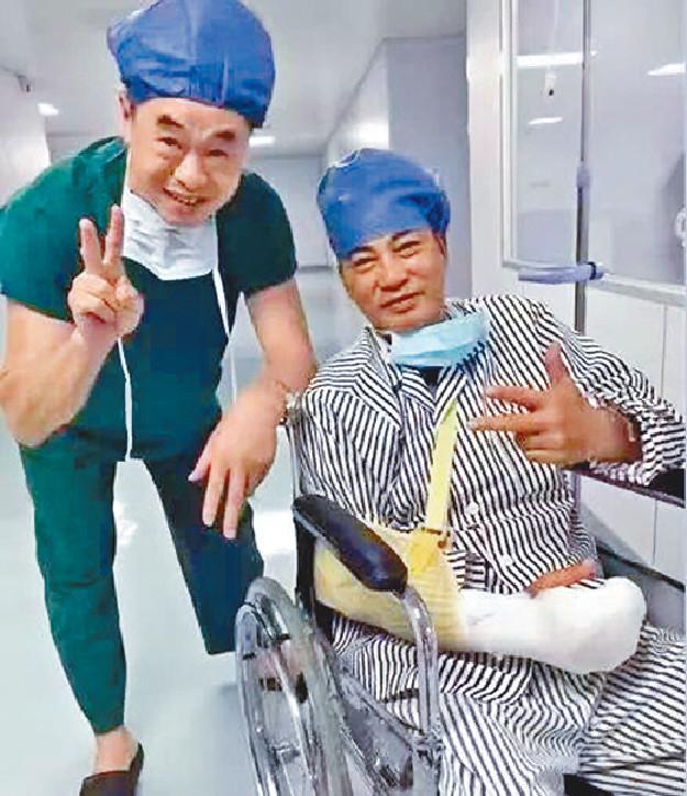 ■華哥昨晨已由ICU轉往普通病房。資料圖片