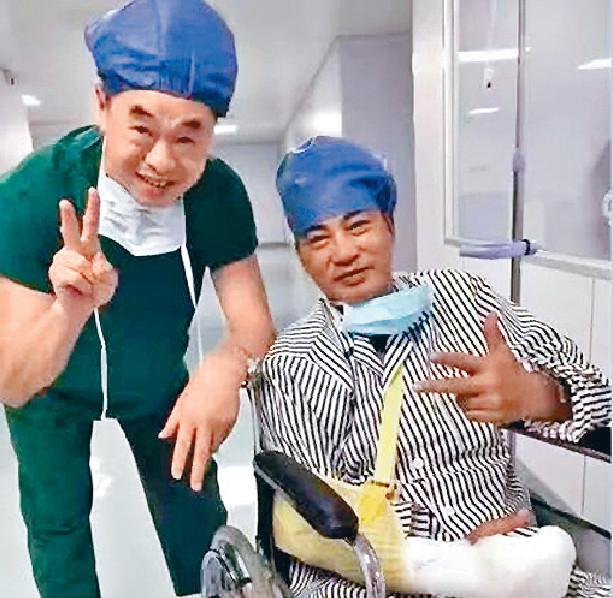 ■留院四日,華哥已無大礙。資料圖片