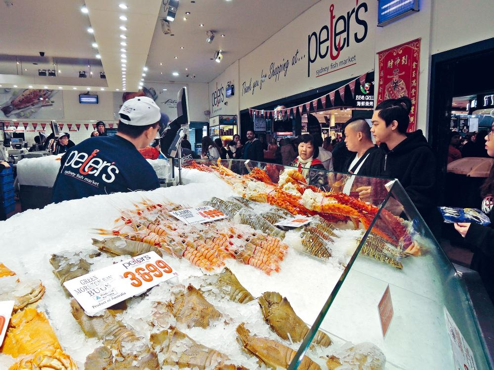 雪梨魚市場是當地最受歡迎的遊點之一,市場經常都是人頭湧湧,一眾海產美食令人垂涎。