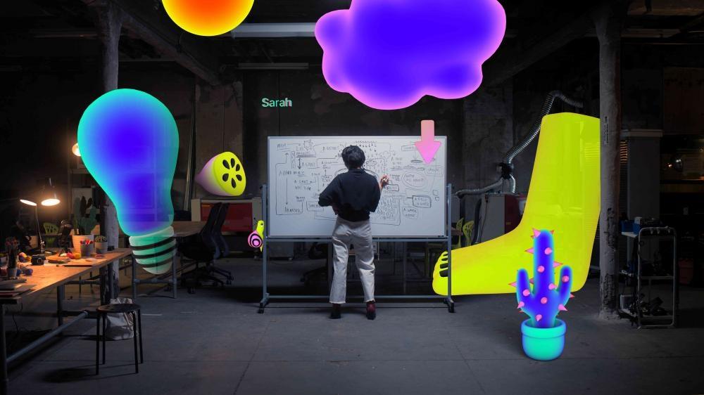 紐約藝術家及教育工作者 Sarah Rothberg教授如何使用Swift Playgrounds創造自己的AR體驗。